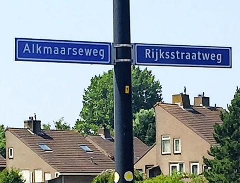 Wegversmallingen op Alkmaarseweg in Beverwijk en Rijksstraatweg in Heemskerk om automobilisten te ontmoedigen: aanleg half april
