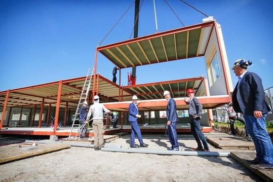 Heliomare bouwt elf tijdelijke lokalen in Heemskerk, nieuwbouw na zomer in gebruik