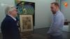 Koddig Volendams kermistafereel van Willy Sluiter duikt op bij 'Tussen kunst en kitsch'; 'Ik denk dat dit vroeger in hotel Spaander gehangen heeft'
