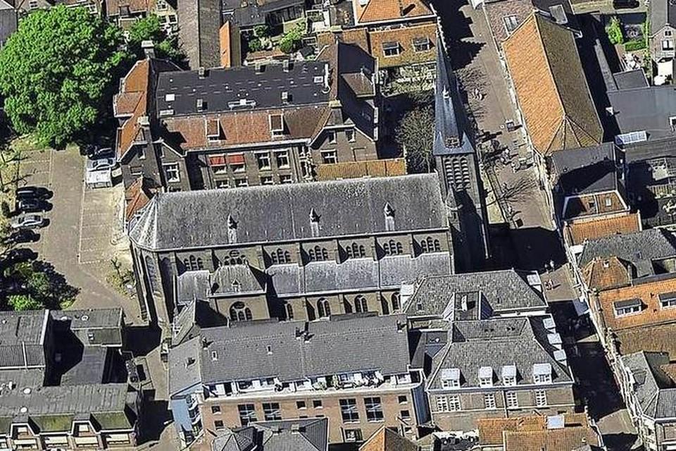 De Franciscus Xaveriuskerk aan de Westerstraat.