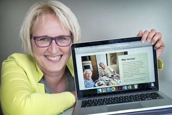 Ervaringsdeskundige komt met internetplatform voor kinderen van ouders met dementie