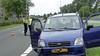 Bestuurder gewond na botsing met paal langs N203 in Wormerveer