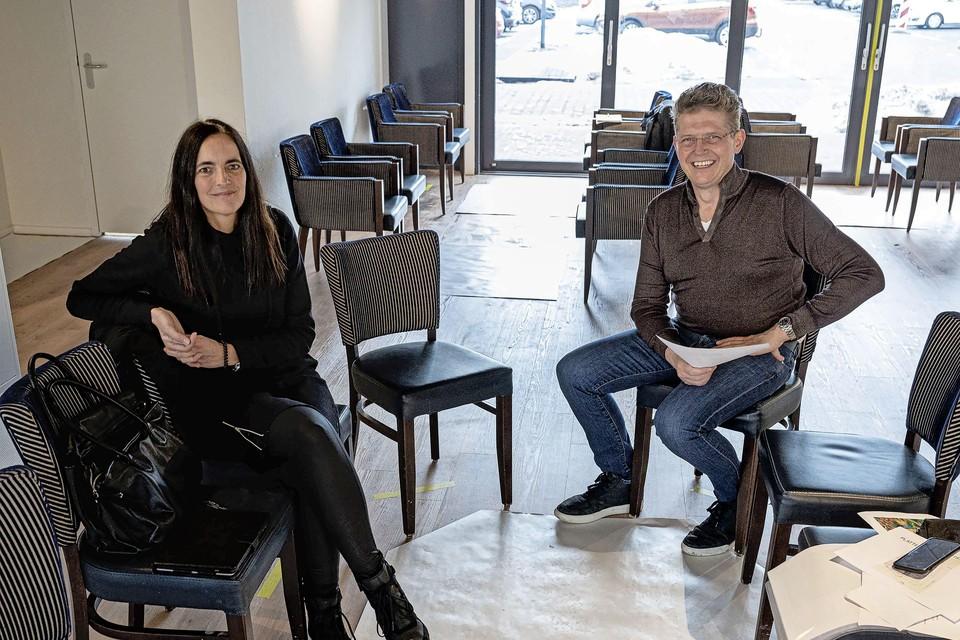 Marion Breij en Niels Veerman kunnen bijna niet wachten om te beginnen.