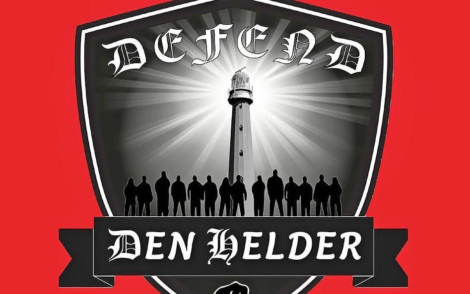 Het logo van Defend Den Helder.