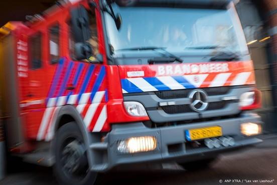Bewoners gered uit brandende woning in Amsterdam-Zuid