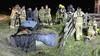 Grote reddingsactie in Schoorl voor paard te water [video]