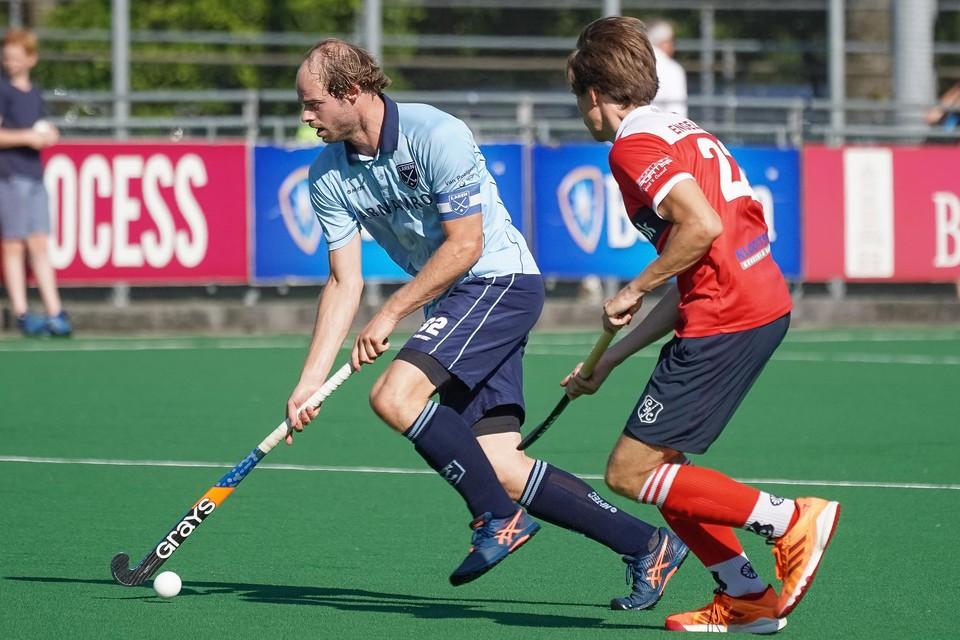 Pieter Paul Houting (Laren): ,,Je kunt zien dat we een hecht team zijn, een doel hebben en niet voor het geld spelen.''