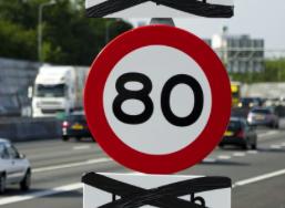 D66 en PvdA willen 80 op A8
