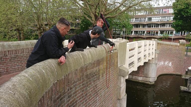 Pistoolvissen vanaf de Kippebrug [video]