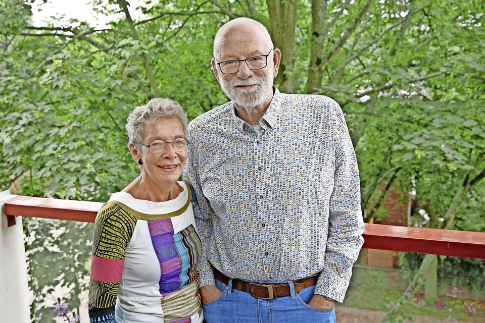 """""""We zijn nog steeds heel gelukkig samen"""", zeggen Hans en Margaret van Eijden."""