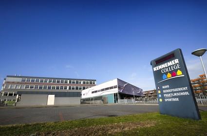 Voorzichtige herstart van het middelbaar onderwijs in de IJmond: 'We gaan met kleine groepen werken, dat houdt in dat niet alle leerlingen tegelijk naar school kunnen'