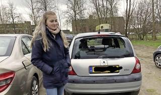 Vandalisme aan personenauto op braakliggend terrein Pelmolenpad in Hoorn: 'Als je dochter belt, kom je'