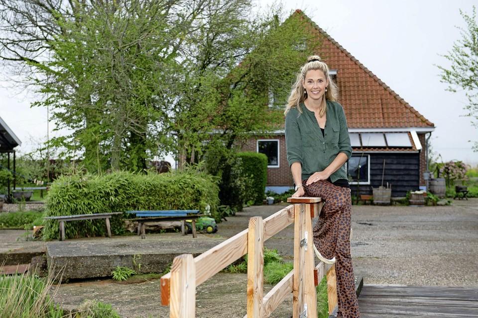 Hanna Hilhorst in Ilpendam.