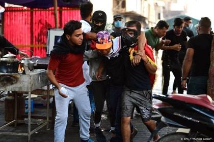 Vier doden door traangasgranaten in Bagdad