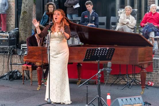 Duet hoogtepunt van Zuider Havendijk Concert Enkhuizen