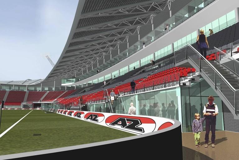 Al in 2006 werd getwijfeld aan veiligheid AZ-stadion
