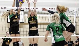 Volleybalclub Huizen ziet damesteam volledig 'leeggeplukt' worden en moet stap terug doen naar tweede divisie