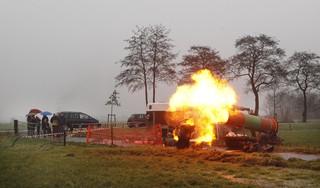 PvdA Alkmaar gaat voor carbidschietverbod. Fractievoorzitter David Rubio Borrajo als de dood dat carbidschieten het vuurwerk vervangt