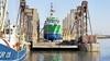 Zestien miljoen euro aan inkomsten veiliggesteld. Scheepswerven zoals die in Den Oever en Oudeschild kunnen door met onderhoud aan Engelse vissersschepen