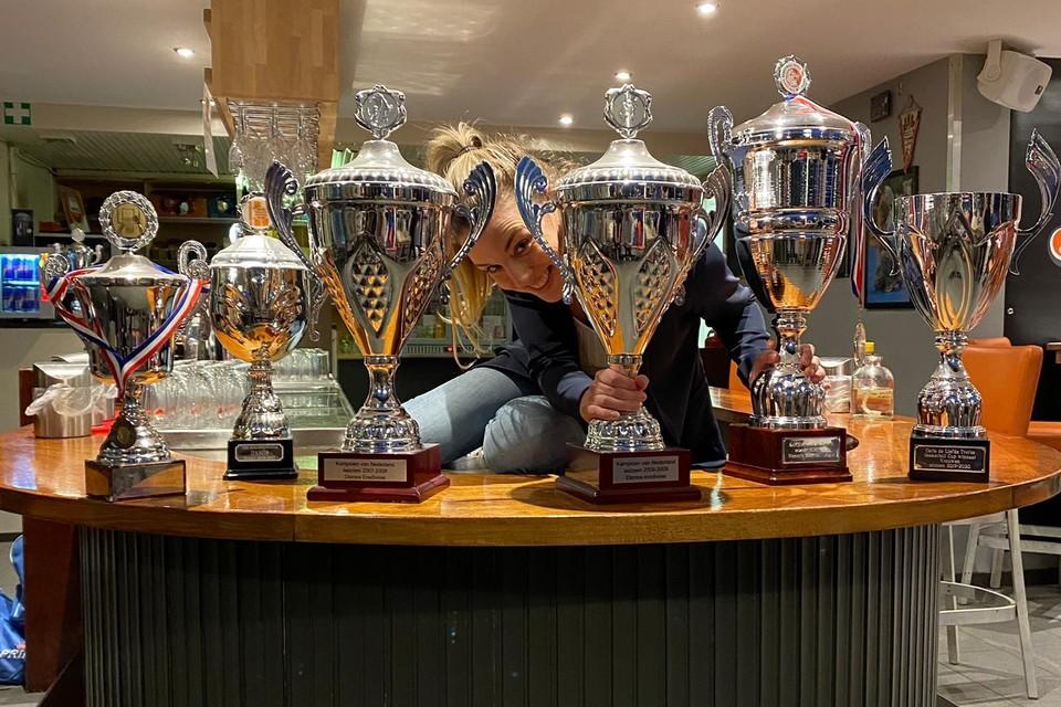 Maaike Klein: 'In één seizoen ben ik zelfs met drie teams landskampioen geworden'