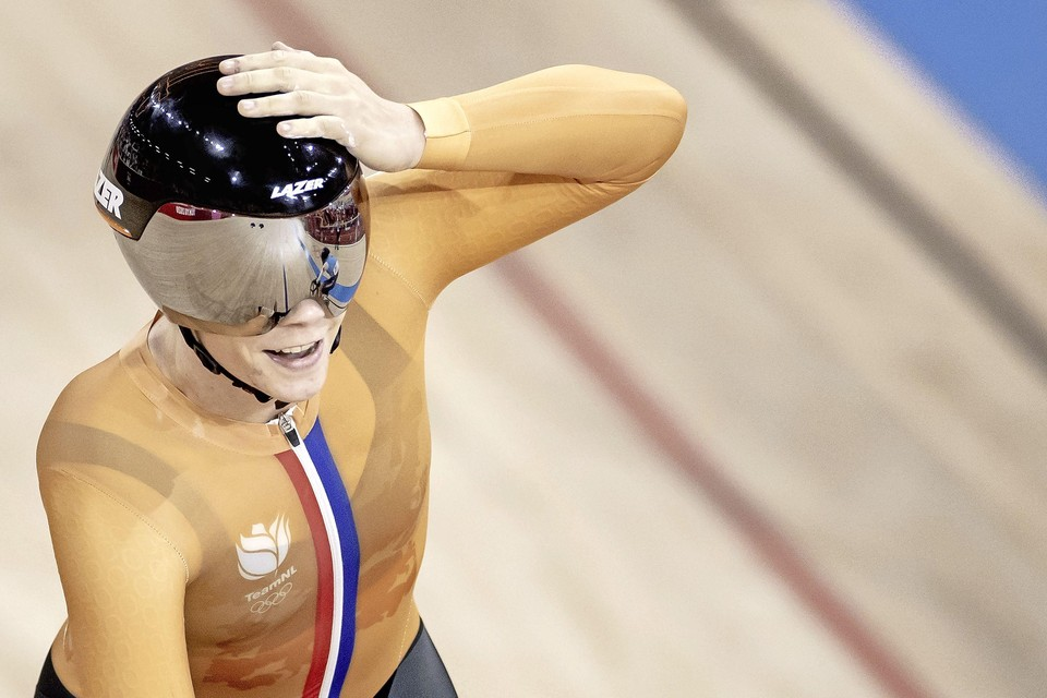 Shanne Braspennincx kan het zelf ook niet geloven dat ze olympisch kampioen is geworden.