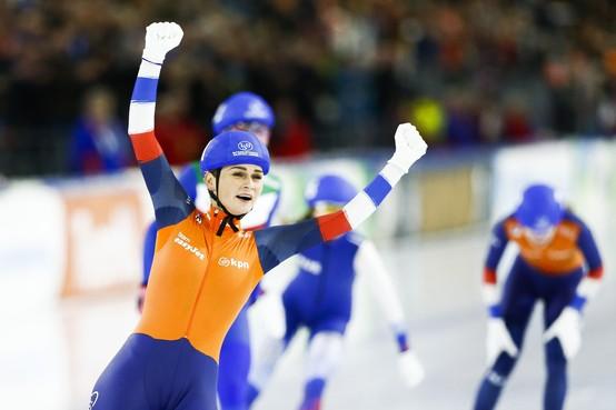 Irene Schouten uit Andijk ook Europees schaatskampioen op massastart [video]