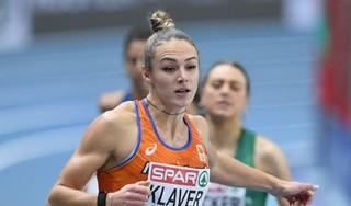 Atlete Lieke Klaver naar finale 400 meter EK indoor, Lisanne de Witte strandt in halve finales