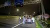 Automobilist 'parkeert' midden op A1 na crash tegen vangrail, mogelijk onder invloed van drank of medicatie