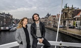 Rauw en gepolijst tegelijk; tegenpolen Dafne Holtland en Frank van Kasteren vormen het duo Kafka; concert 10 december in Patronaat Haarlem