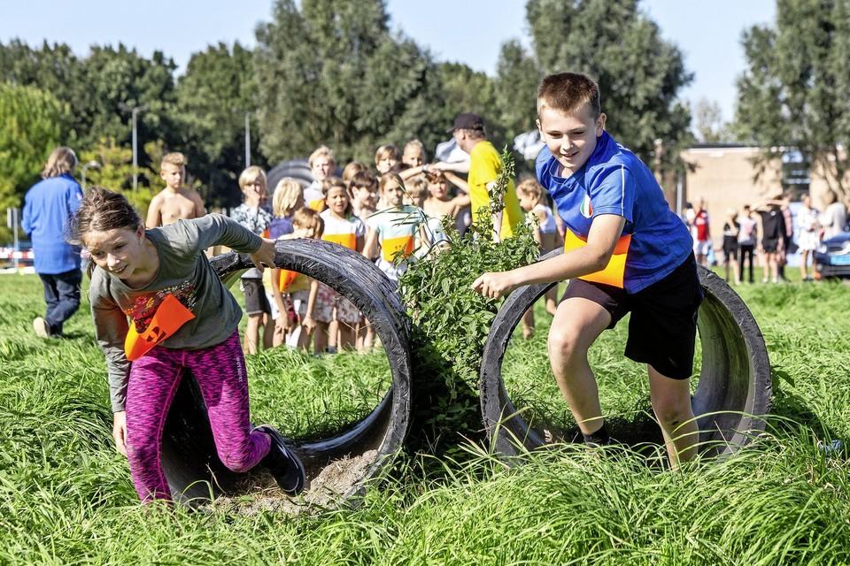 Net als vorig jaar kunnen de jonge Spaarndammers zich weer uitleven tijdens het alternatieve Zomerfeest.