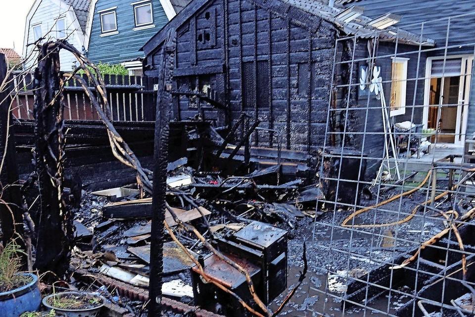 De schuurbranden in de Reigerstraat in Zaandam zorgden voor veel onrust onder bewoners.
