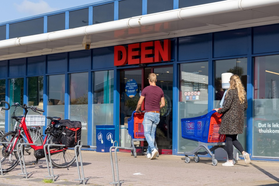 De laatste dag van het filiaal van Deen in Avenhorn.
