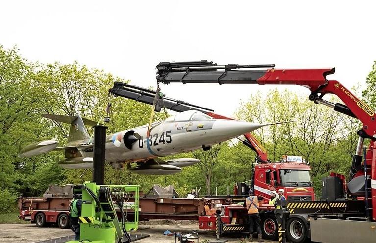 De laatste vlucht van de Starfighter, de oude widow-maker