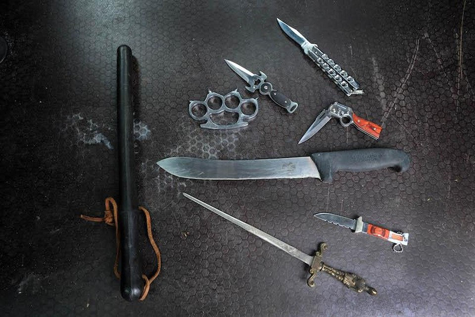 De politie hoopt dat er veel messen en steekwapens van straat verdwijnen.