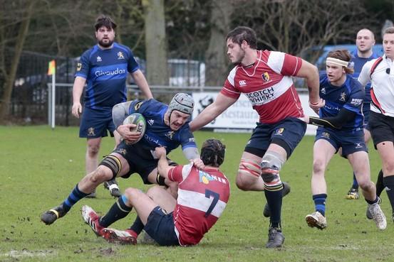 Rugby: Valse start nekt 't Gooi, Hilversum eenvoudig langs Utrecht