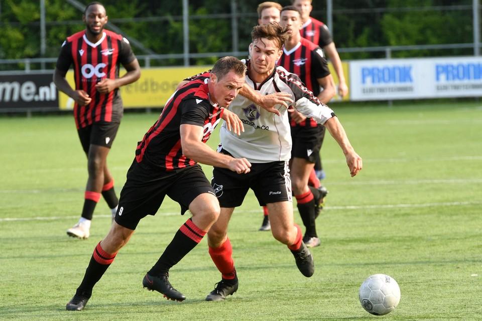 Tegen ZAP scoorde Pieter Koopman drie keer namens Zwaluwen'30. Een week eerder flikte de spits dit kunstje ook al.