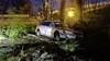 Auto crasht langs de A7 in Berkhout, twee personen aangehouden [update]