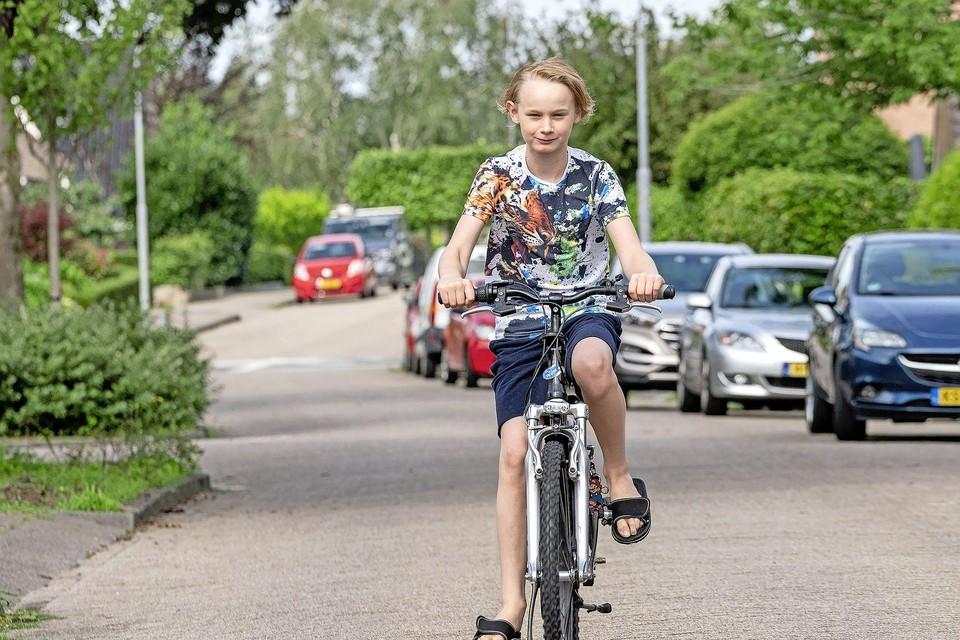 De gemeente Langedijk wil Bryan niet naar school laten vervoeren.