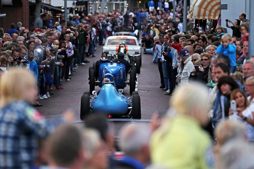 Parade vand e Historic Grand Prix. Foto Circuitpark Zandvoort