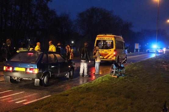 Man in rolstoel aangereden in Uitgeest
