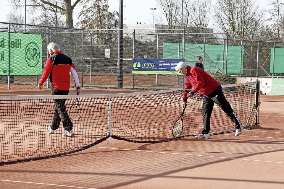 STC merkt vooral dat tennis als individuele sport in de lift zit