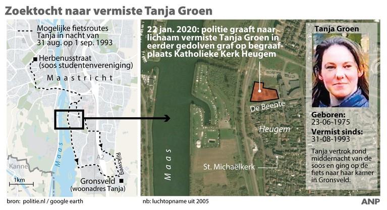Lichaam Tanja Groen mogelijk in gedolven graf gelegd [video]