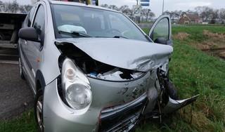 Twee gewonden bij auto-ongeluk in Oude Niedorp